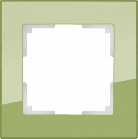 Рамка Favorit на 1 пост фисташковый WL01-Frame-01 4690389098574