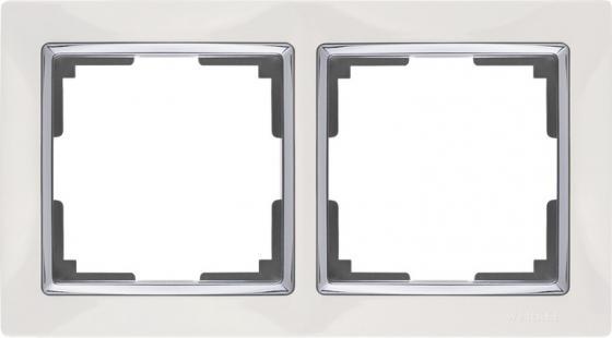 Рамка Snabb Basic на 2 поста белый WL03-Frame-02 4690389098734