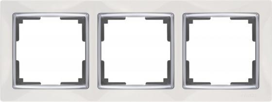 Рамка Snabb Basic на 3 поста белый WL03-Frame-03 4690389098758