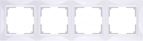 Рамка Snabb Basic на 4 поста белый WL03-Frame-04 4690389098772