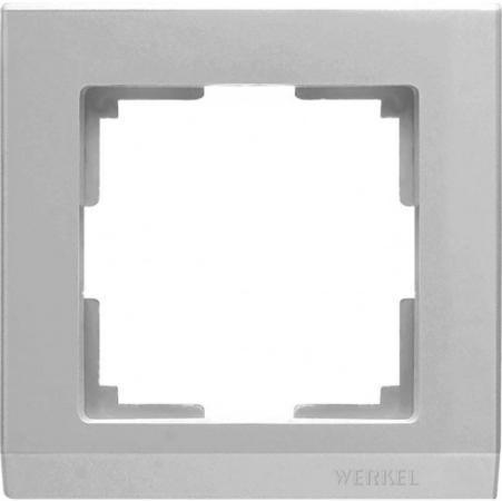 Рамка Stark на 1 пост серебряный WL04-Frame-01 4690389063688 майка борцовка print bar house stark