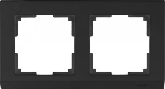 Рамка Stark на 2 поста черный WL04-Frame-02-silver/black 4690389048845 free shipping 20pcs 10mm 330mm abrasive band for pneumatic belt sander 80 grits