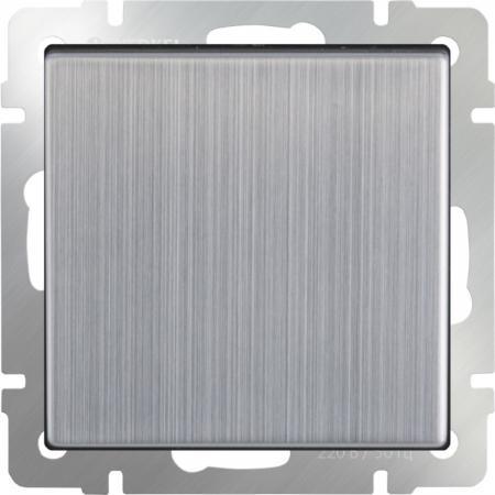 Выключатель одноклавишный глянцевый никель WL02-SW-1G 4690389045738 werkel выключатель одноклавишный werkel wl02 sw 1g