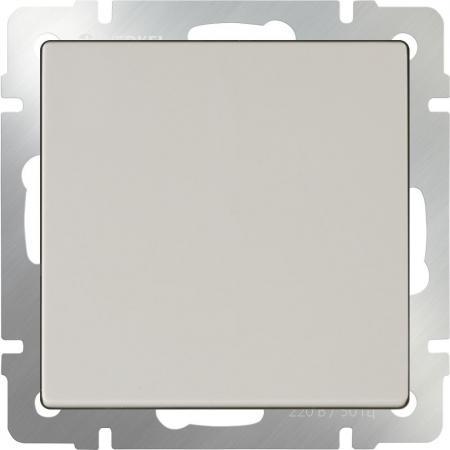 Выключатель одноклавишный слоновая кость WL03-SW-1G-ivory 4690389046148