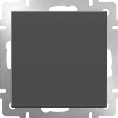 Перекрестный переключатель одноклавишный серо-коричневый WL07-SW-1G-C 4690389073601