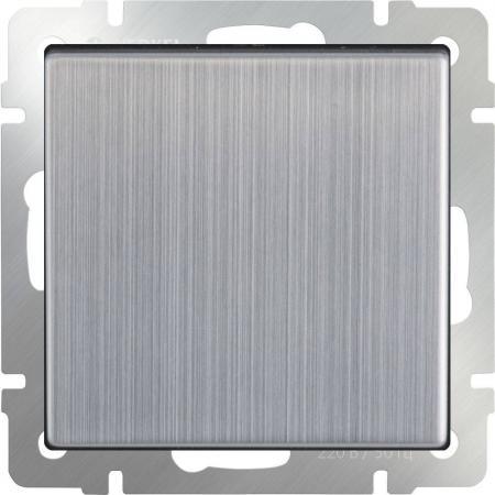 Перекрестный переключатель одноклавишный глянцевый никель WL02-SW-1G-C 4690389084096
