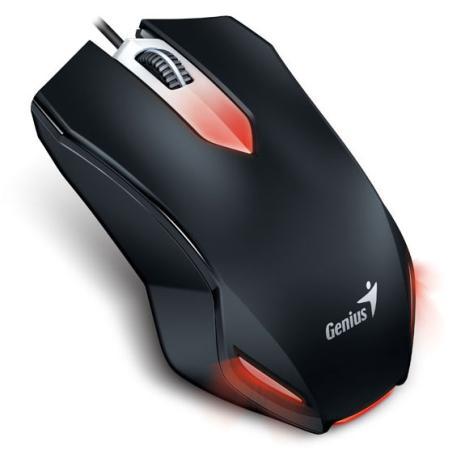 Мышь проводная Genius X-G200 черная USB