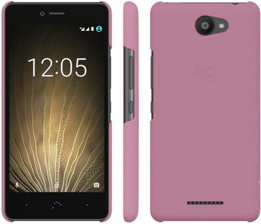 Чехол BQ для BQ Aquaris U/U Lite розовый E000716 сотовый телефон bq aquaris u plus 32gb black