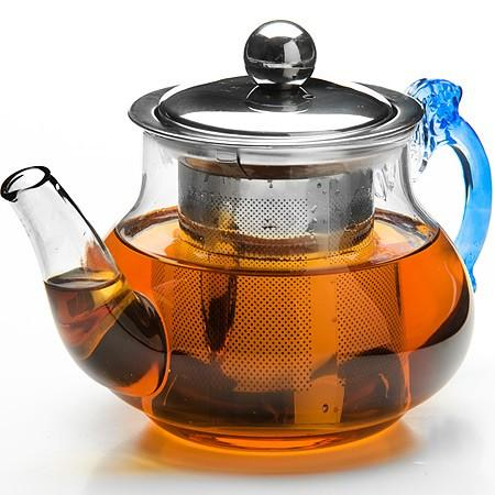Чайник заварочный Mayer&Boch 26200-MB прозрачный 0.4 л стекло заварочный чайник 1 5 л mayer and boch клубника mb 23981