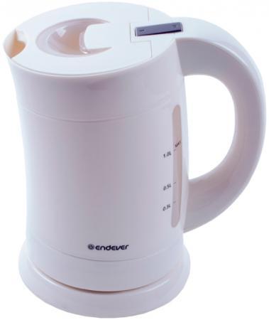 Чайник ENDEVER KR-355 1900 Вт белый 1 л пластик чайник endever skyline 357 kr 1900 вт зелёный чёрный 1 л пластик href page 1