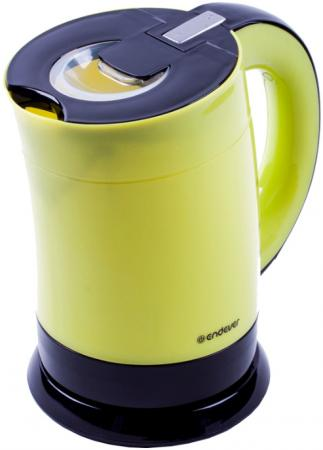Чайник ENDEVER KR-356 1900 Вт жёлтый чёрный 1 л пластик пылесосы endever пылесос