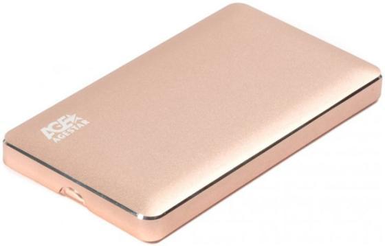 "все цены на Внешний контейнер для HDD 2.5"" SATA AgeStar 3UB2A16 USB3.0 алюминий золотистый"