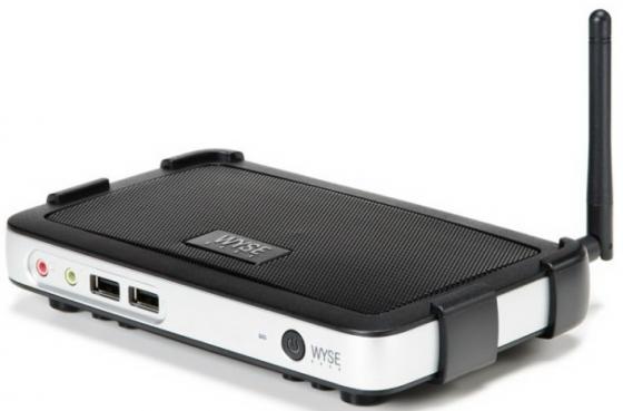 Тонкий клиент DELL Wyse 3010 Marvell ARM-ARMADA 510 1Gb — использует системную Без ОС черный 909576-02L