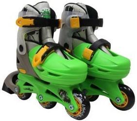 Набор коньки роликовые Moby Kids 2в1, защита, шлем, пласт.,р.30-33   641017 moby kids для прыжков со звуком красный