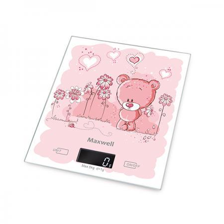 Весы кухонные Maxwell MW-1477(PK) розовый фен maxwell mw 2006 розовый