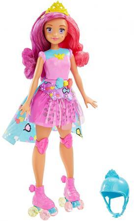 Игровой набор Barbie (Mattel) Повтори цвета и виртуальный мир 29 см  DTW00 mattel ever after high dvj20 отважные принцессы холли о хэир