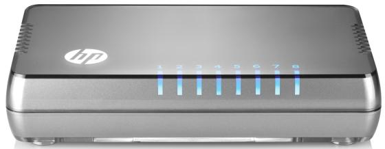цена на Коммутатор HP 1405 8G v3 неуправляемый 8 портов 10/100/1000Mbps JH408A