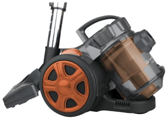 Пылесос Vitek VT-8115(OG) сухая уборка оранжевый чёрный пылесос vitek vt 8130 bk сухая уборка зелёный чёрный
