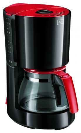 Кофеварка Melitta Enjoy II 1000 Вт красный черный (21623)