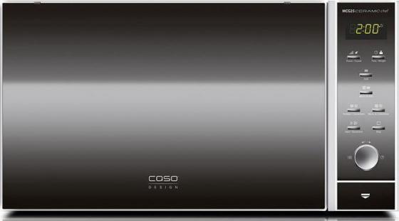 Микроволновая печь CASO MCG 25 Ceramic Chef 900 Вт серебристый