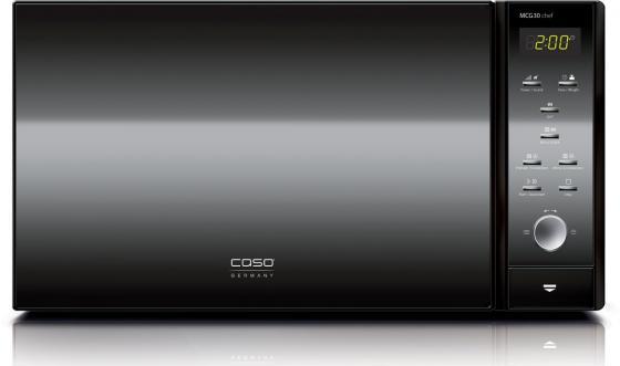 Микроволновая печь CASO MCG 30 chef black 900 Вт чёрный