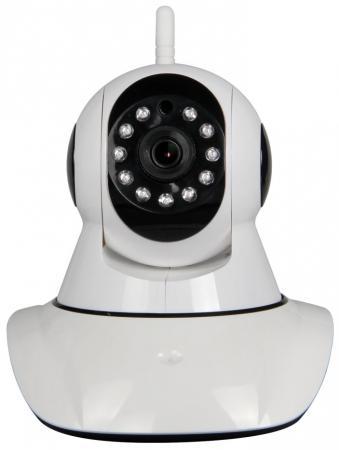 Камера IP Rubetek RV-3403 CMOS 1280 x 720 H.264 RJ-45 LAN Wi-Fi белый автомагнитола alpine ine w920r