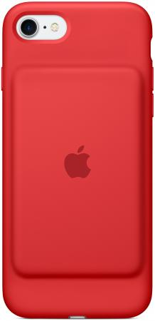 Чехол-аккумулятор Apple Smart Battery Case для iPhone 7 красный MN022ZM/A чехол для стилуса apple pencil case electric blue