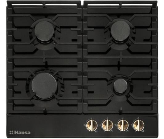 Варочная панель газовая Hansa BHGA61059 черный