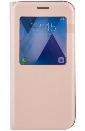 Чехол Samsung EF-CA520PPEGRU для Samsung Galaxy A5 2017 S View Standing Cover розовый холст 60x90 printio india