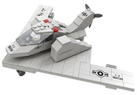 Конструктор Ausini Армия - Самолёт-невидимка F-2 229 элементов 22506 ba0n10 to 252 page 9