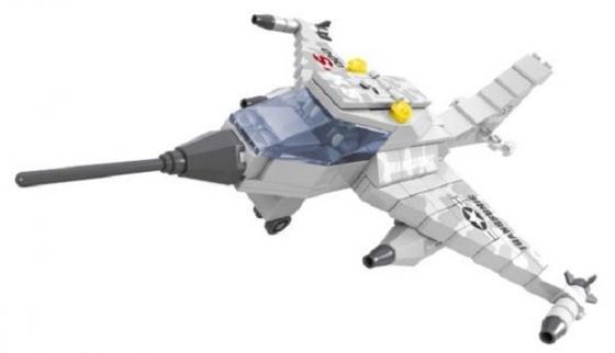 Конструктор Ausini Армия - Самолет KS T-3000 168 элементов 22406 конструктор ausini гонщик 55 элементов 26204