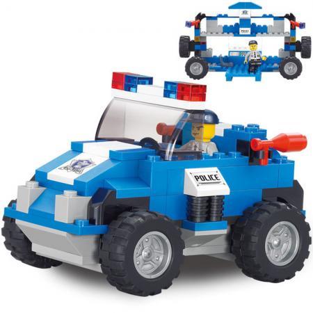 Конструктор SLUBAN Полицейский спецназ - Машина 121 элемент  M38-B0183 конструкторы sluban box военный спецназ m38 b0206r 273 элемента