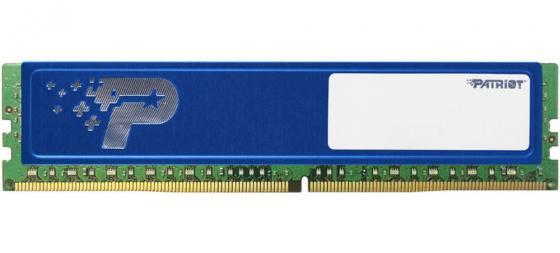 Оперативная память 4Gb PC4-19200 2400MHz DDR4 DIMM Patriot PSD44G240041H цена и фото