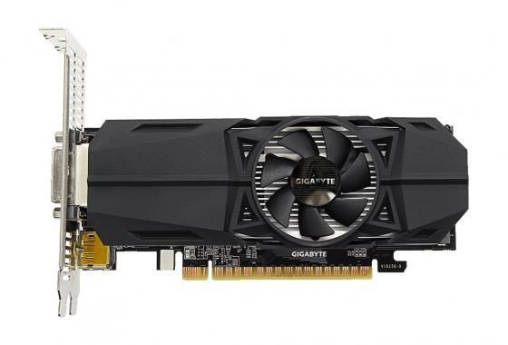 Видеокарта GigaByte GeForce GTX 1050 GV-N1050OC-2GL PCI-E 2048Mb 128 Bit Retail видеокарта gigabyte geforce gt 730 gv n730d5 2gl pci e 2048mb 64 bit retail