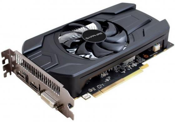 Видеокарта 4096Mb Sapphire RX 460 4G OC PCI-E HDMI DP DVI HDCP 11257-11-20G Retail видеокарта sapphire radeon rx 460 nitro oc 1175mhz pci e 3 0 4096mb gddr5 128bit dvi dp hdmi hdcp 11257 02 20g