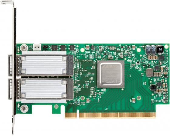 Фото - Сетевой адаптер Mellanox MCX416A-BCAT сетевой адаптер mellanox mcx312c xcct 10 100mbps