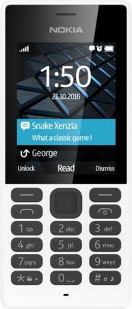 Мобильный телефон NOKIA 150 DS белый 2.4 A00027945 мобильный телефон nokia 130 dual sim 2017 grey