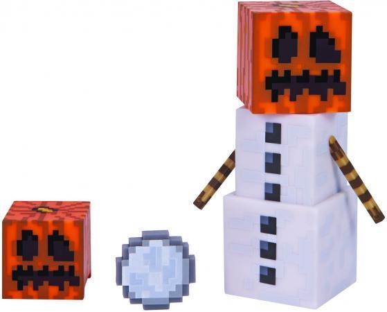 Игровой набор Minecraft Снежный голем с аксессуарами Т59987 цена и фото