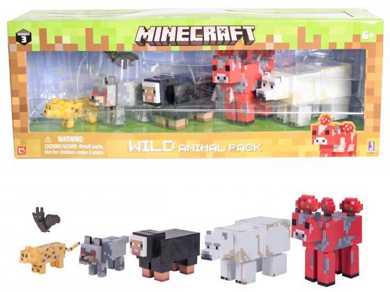 цена на Игровой набор Minecraft Животные 6 шт. 6 предметов 59991