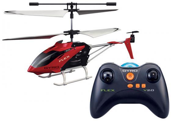 Вертолёт на радиоуправлении 1toy GYRO-Flex красный от 14 лет пластик Т57269 игрушка 1toy gyro flex вертолет с гироскопом т57269