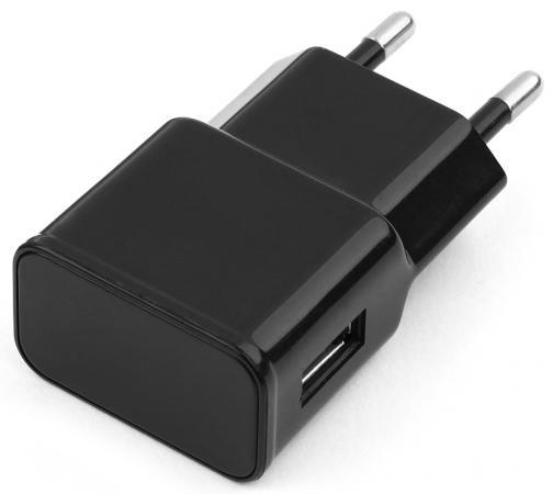 Сетевое зарядное устройство Cablexpert MP3A-PC-10 1A черный зарядное устройство зарядное устройство сетевое qtek s200 htc p3300 ainy 1a