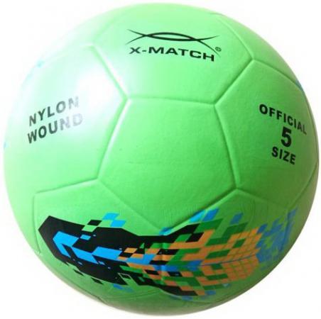 Мяч футбольный X-Match 56388 в ассортименте x match настольная игра хоккей x match 87909