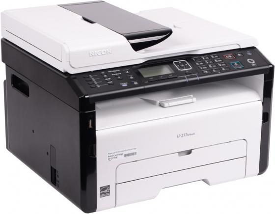 МФУ Ricoh SP 277SFNwX черно-белая A4 23ppm Wi-Fi USB 408159