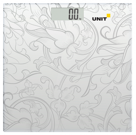 Весы напольные Unit UBS-2053 серый рисунок
