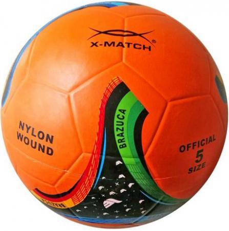 Мяч футбольный X-Match 56389 в ассортименте x match настольная игра хоккей x match 87909