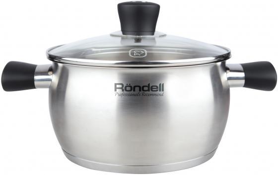 Кастрюля Rondell Dominant (ST) 832-RDS 20 см 3.3 л нержавеющая сталь кастрюля rondell dominant rds 831