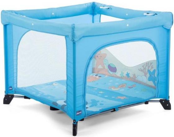 Кровать-манеж Chicco Open (box sea dreams) кровать манеж chicco open box fruit salad