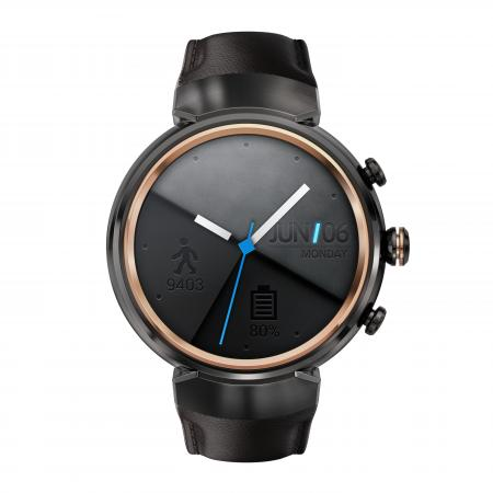 ASUS ZenWatch 3 (WI503Q) leather asus zenwatch 3 wi503q leather strap dark brown