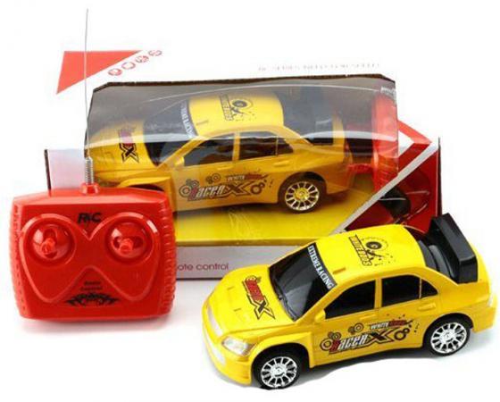Машинка на радиоуправлении Shantou Gepai RacerX желтый от 5 лет пластик 4 канала TC227-2A машинка на радиоуправлении shantou gepai гоночная 4 канала от 3 лет желтый пластик w 821