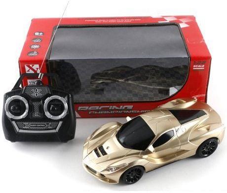 Машинка на радиоуправлении Shantou Gepai Racing Champion золотистый от 6 лет пластик 66-TF12 оружие shantou gepai overlord золотистый 36b 1